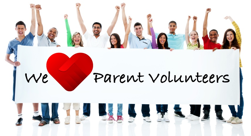 We heart parent volunteers